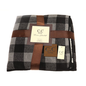 CC BUFF CHECK BLANKET-2 COLORS