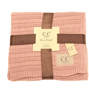 CC Baby Blanket-3 Colors