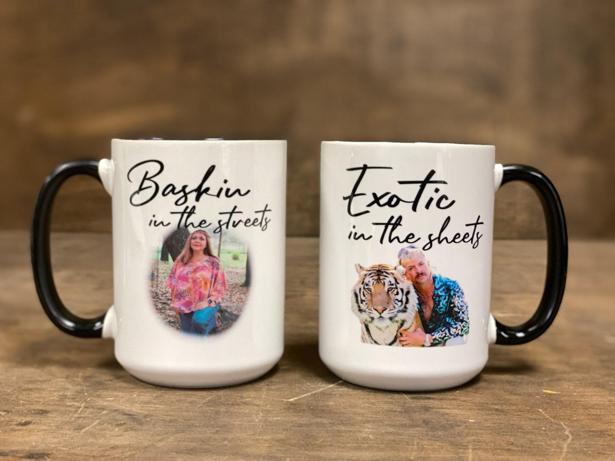 Baskin In The Streets, Exotic In The Sheets Mug