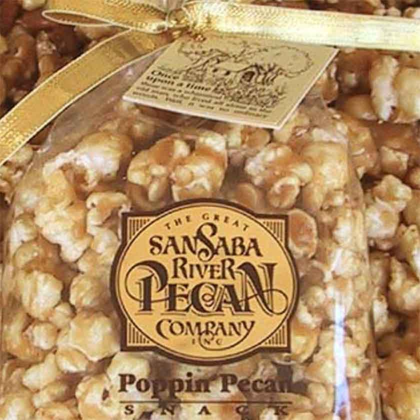 POPPIN PECAN SNACK SMALL - PECAN CO