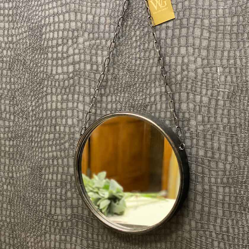 Round Metal Mirror - Medium - Willow