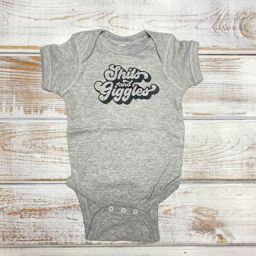 SHITS & GIGGLES ONESIE