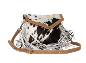 MYRA BAG - SILKY ROUTE HAIRON BAG
