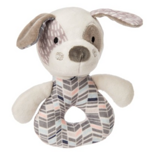 Mary Meyer Stuffed Animal Soft Ring Rattle