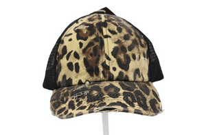 CRISS CROSS HIGH PONY CC BALL CAP(MULTIPLE COLORS)