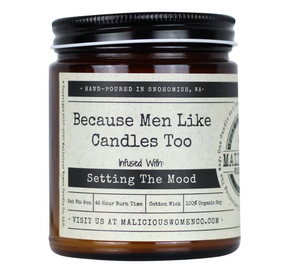 Malicious Woman Candles (Various Options)