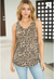 SLEEVELESS CHEETAH TOP