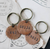 The Traveling Penny Key Chain(Various Options)