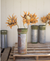 Kalalou Recycled Metal Ammunition Canister Vase