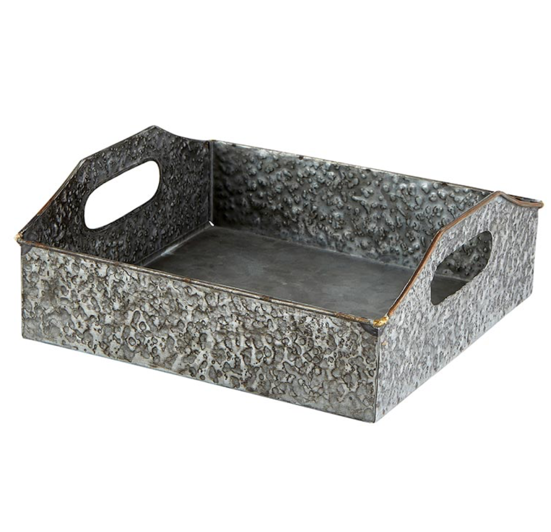 SQUARE METAL TRAY SMALL - CB