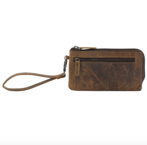 Myra Bag - SUPER TAN LEATHER AND HAIRON WALLET