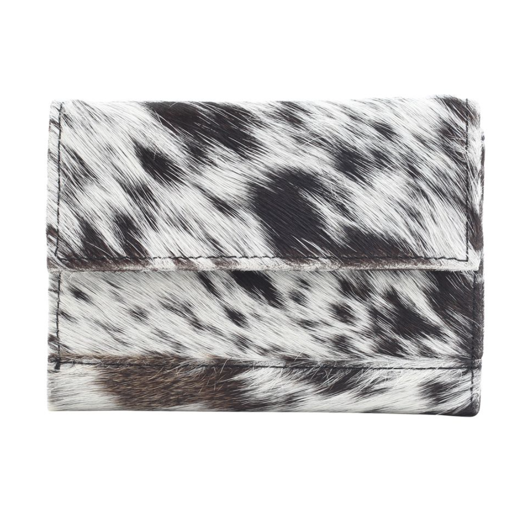 Myra Bag - PANDA SWAG LEATHER AND HAIRON WALLET