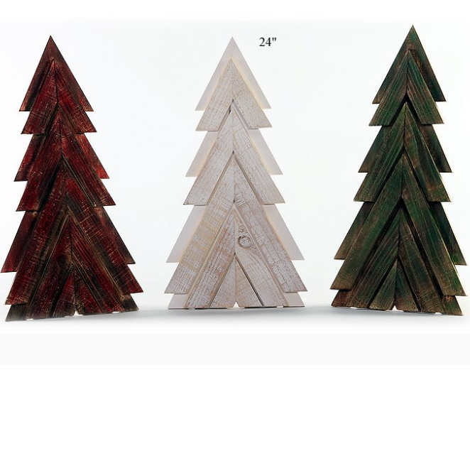 "Slat Tree - 24"" - Wills"