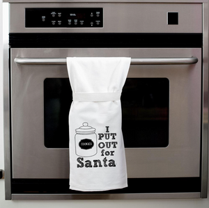 I put out for Santa - Tea Towel - Twistedwares