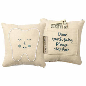 TOOTH FAIRY PILLOW BLUE - PBK