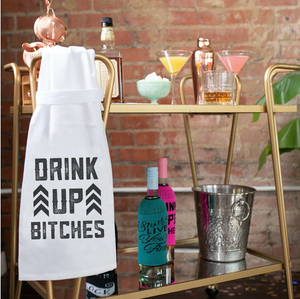 Drink Up Bitches - Hang Tight Towel - Twisted Wares