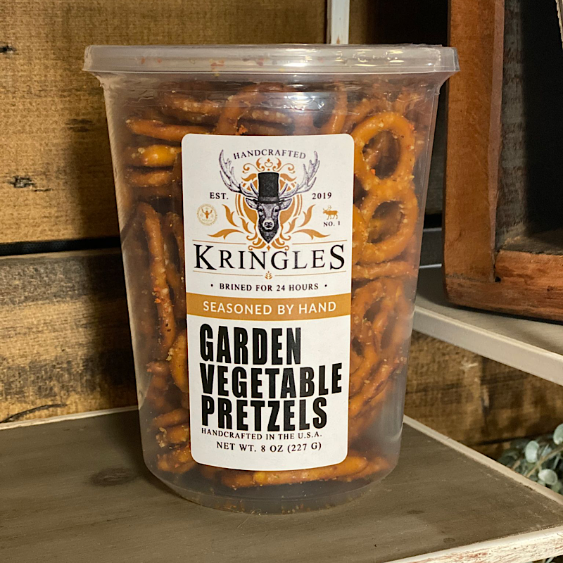 Kringles Garden Vegetable Pretzels - 8 oz