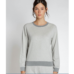Heather Grey Beckett Top