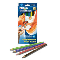 DX34 - Pkg(s) of 24 Prang Pencil Crayons Pre-sharpened
