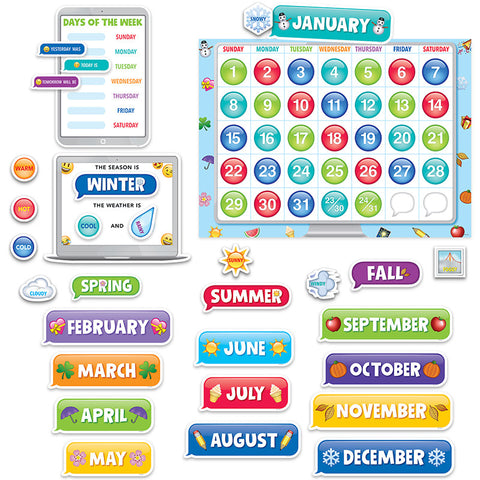 CTP2649 - EMOJI FUN CALENDAR SET BB