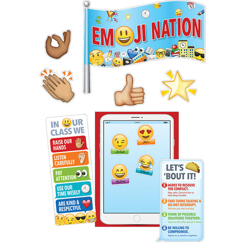 CTP7074 - EMOJI NATION BULLETIN BOARD SET