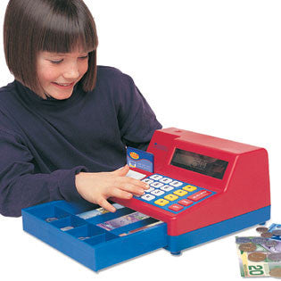 2629-C - Pretend & Play® Calculator Cash Register with Canadian Money