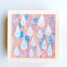 Load image into Gallery viewer, mini happy drops /  original painting /