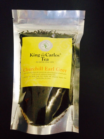 King Carlos Churchill Earl Grey Tea 100g