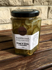 Franklin Road Preserves Bread & Butter Cucumbers 300g