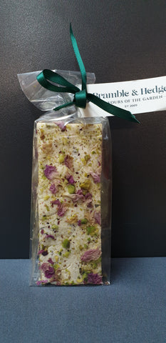 Bramble&Hedge Persian Barberries & Rosewater & Belgian White Chocolate Nougat