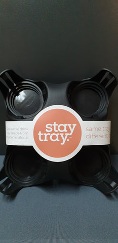 Black Stay Tray