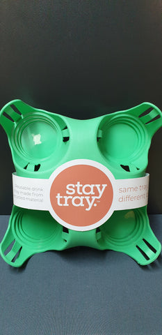 Green Stay Tray