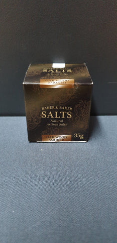 Baker&Baker Oak Wood Smoked Salt 180g Gourmet Box