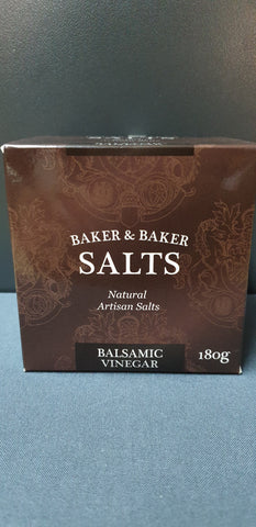 Baker&Baker Balsamic Vinegar infused Smoked Salt 180g Gourmet Box