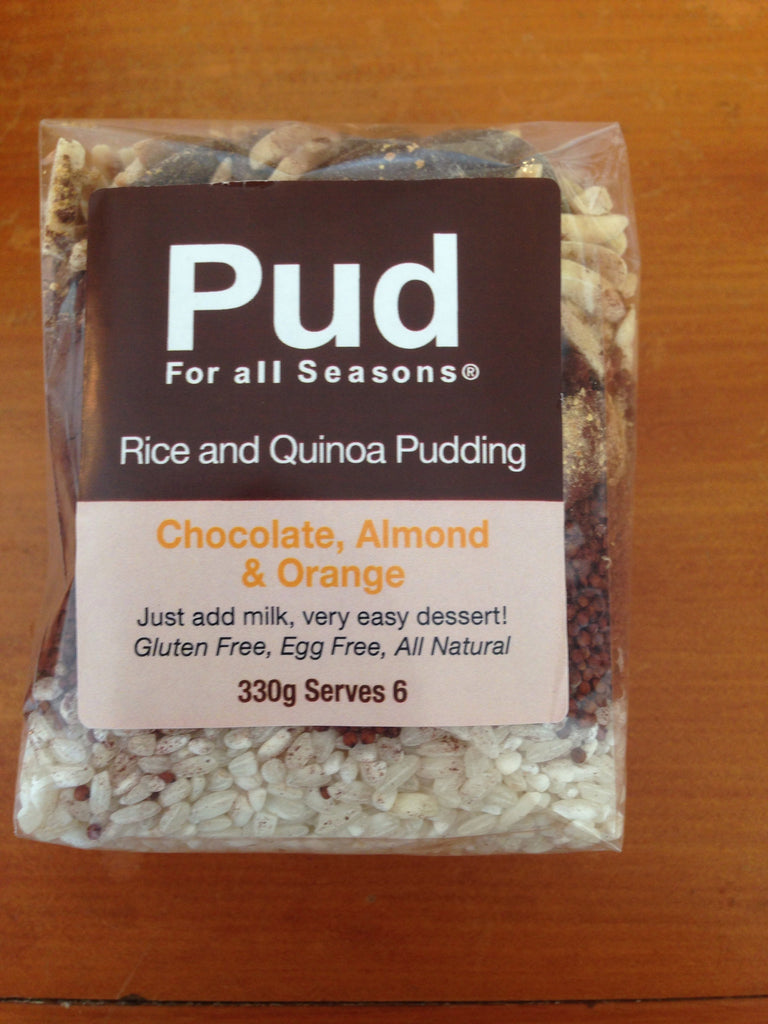 PUD Chocolate, Orange & Almond Rice Pud 330g