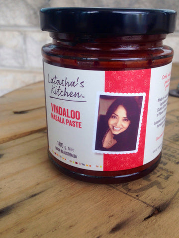 Latasha's Kitchen Vindaloo Paste - HOT