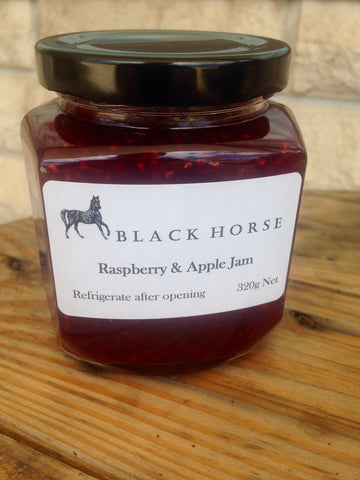 Raspberry & Apple Jam 320g
