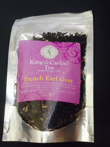King Carlos French Earl Grey Tea 100g