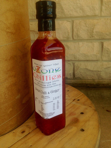 Ozone Chillies Sweet Chilli & Ginger 250ml