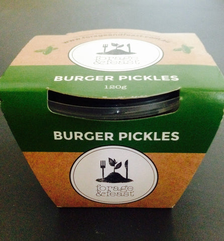 Forage & Feast Burger Pickles 120g