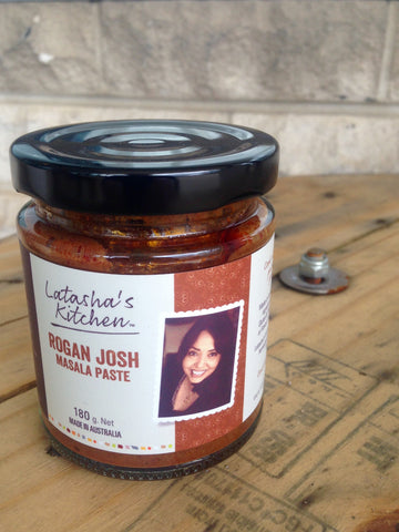 Latasha's Kitchen Rogan Josh Masala Paste - MILD