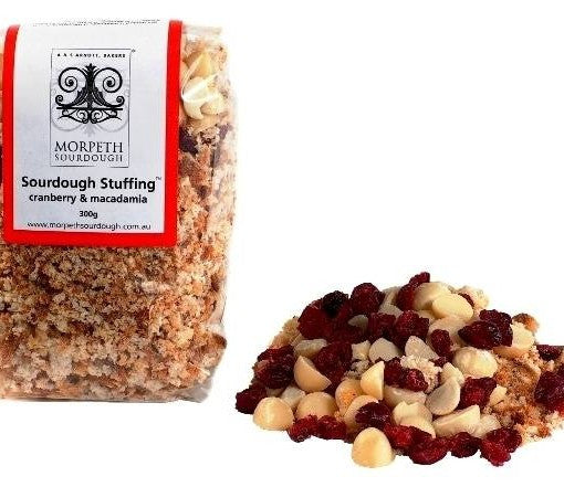 Morpeth Sourdough Stuffing Cranberry & Macadamia
