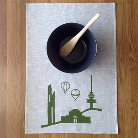 Gatbi Tea Towel Hand Made 100% Linen