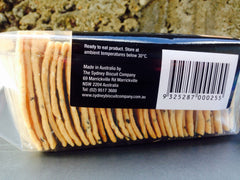 The Sydney Biscuit Company Nigella Seed Lavosh