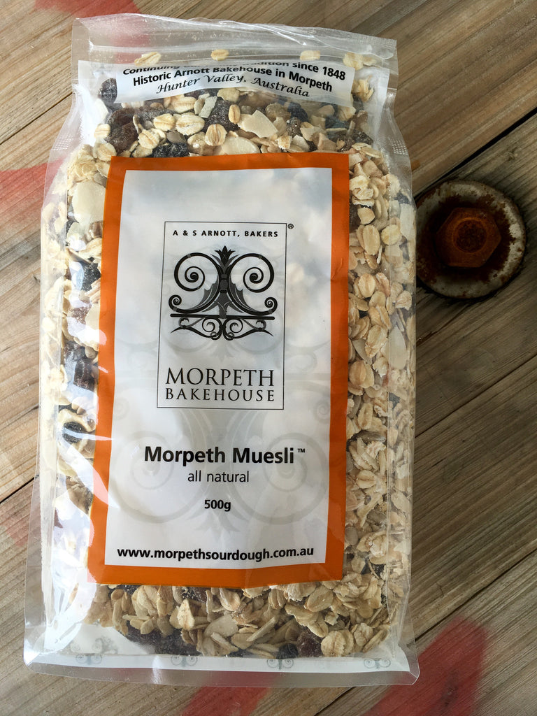 Morpeth Bakehouse Muesli Natural