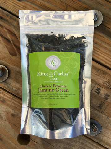King Carlos Chinese Province Jasmine Green Tea 100g
