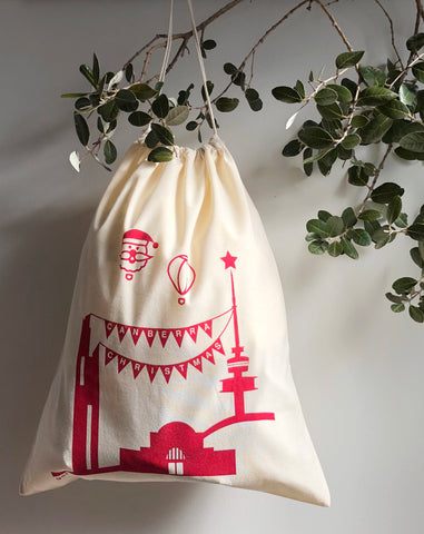 Gatbi Icons Christmas Ham Bag
