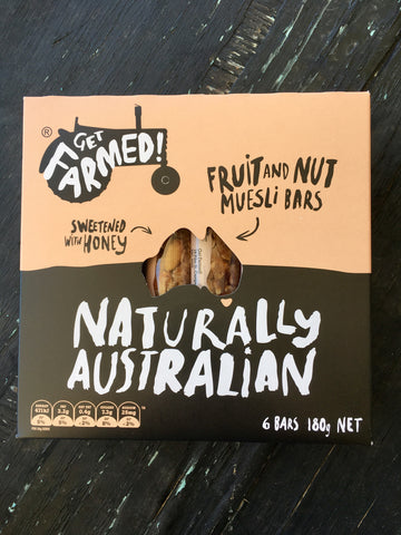 Get Farmed Muesli Bars