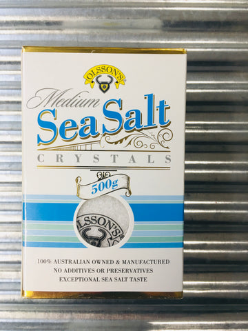 Olsson's Sea Salt Crystals - Medium 500g