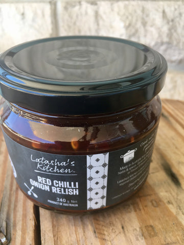 Latasha's Kitchen Red Chilli Onion Relish